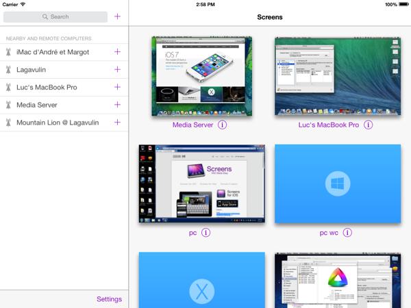 Screens3 ipad