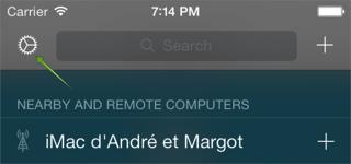 New settings iPhone