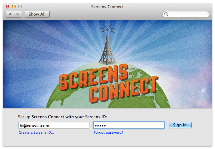 Screens Connect .30