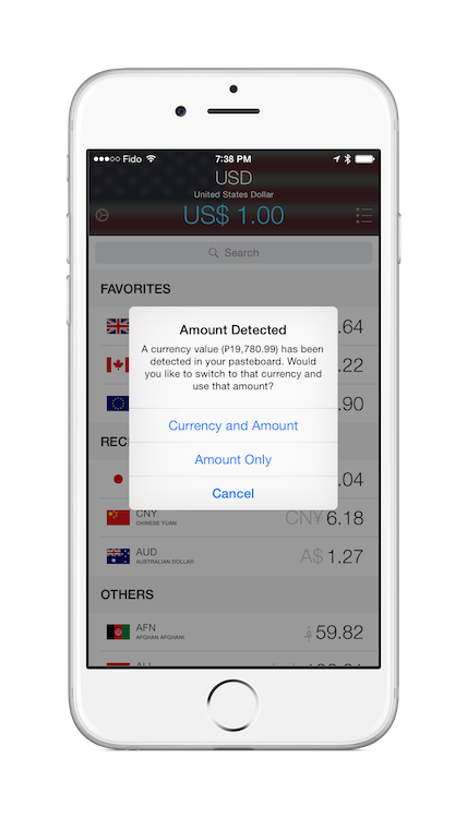 currencies-ios-amount-detected